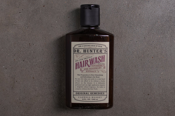 Dr. Hunter's Hair Wash | Caswell Massey - Manready Mercantile