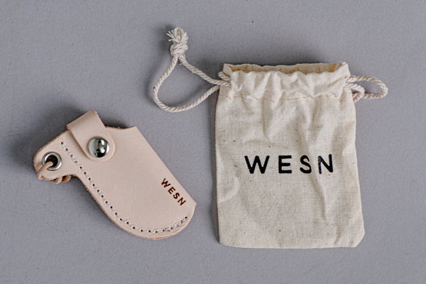 Leather Microblade Sheath | WESN Goods - Manready Mercantile