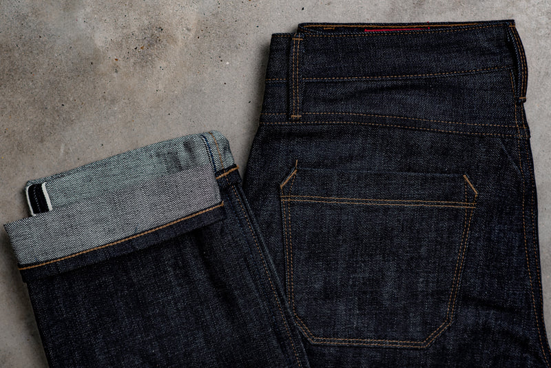 Rios Slim Straight | 14 oz. Blue | Freenote Cloth - Manready Mercantile