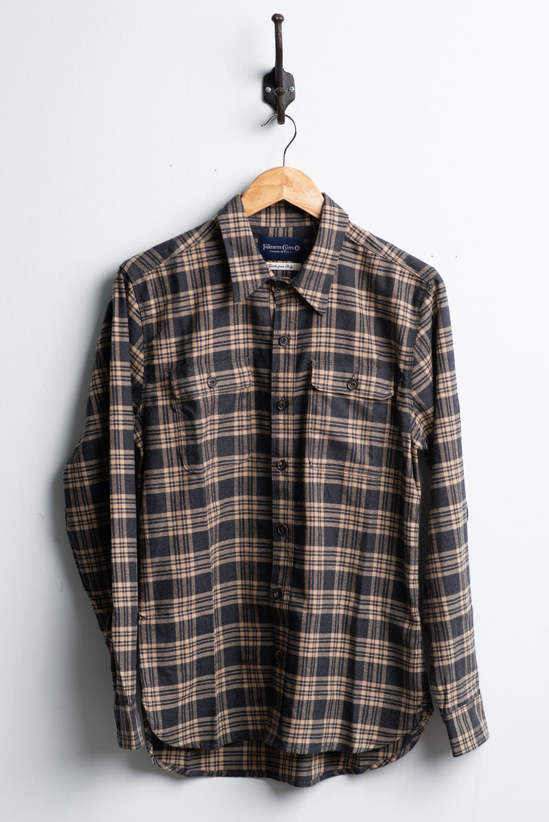 Jepson Shirt | Imperial Sand | Freenote Cloth