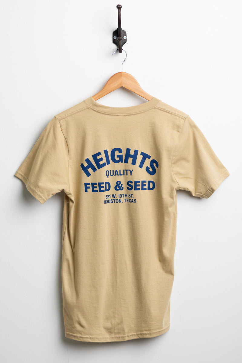 Manready Mercantile Heights Feed and Seed Graphic Tee available at manready.com