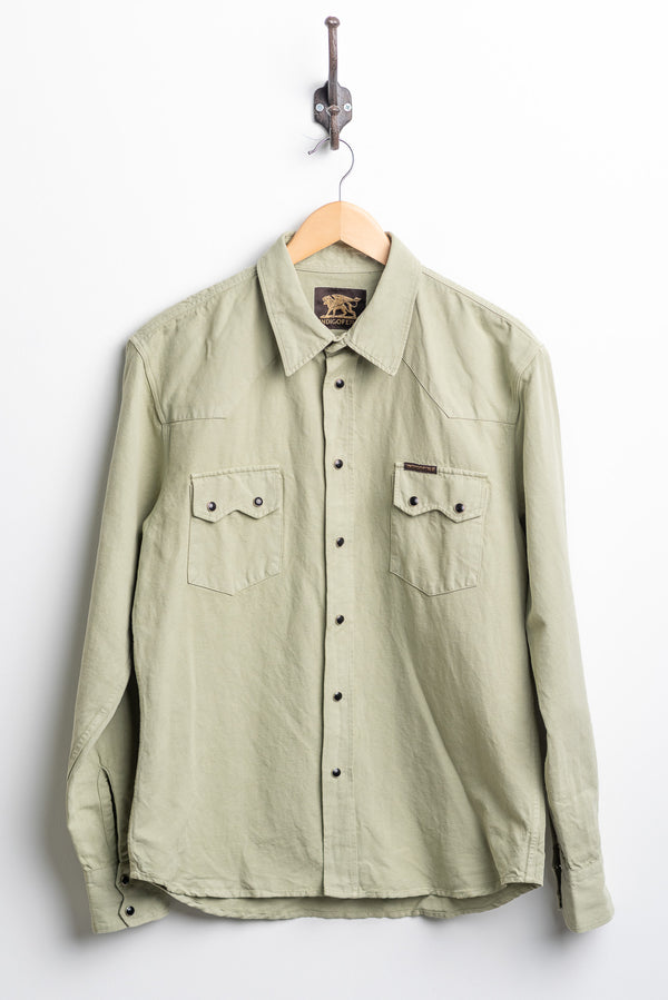 Dollard Shirt | Sage Green | Indigofera
