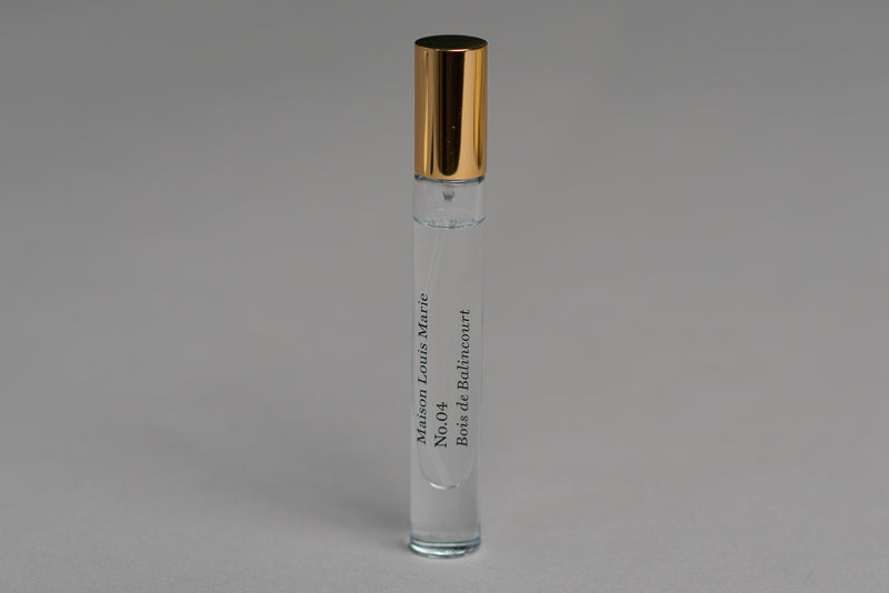 No.04 | Bois de Balincourt | Eau de Parfum Travel Spray | Maison Louis Marie