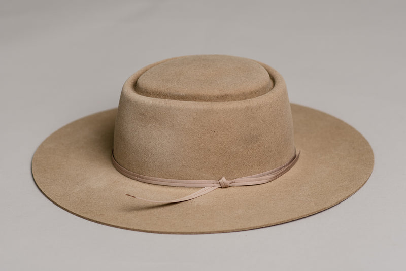 The Hat with No Name by Seager Co and Stetson available at Manready Mercantile