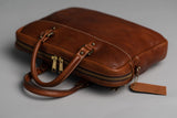 Americana Slim Case | Chestnut | Coronado Leather - Manready Mercantile