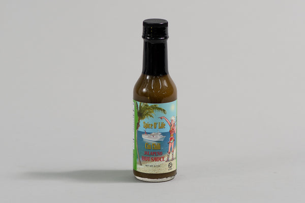Hot Sauce | Spice O' Life Jalapeno | Cin Chili & Co.