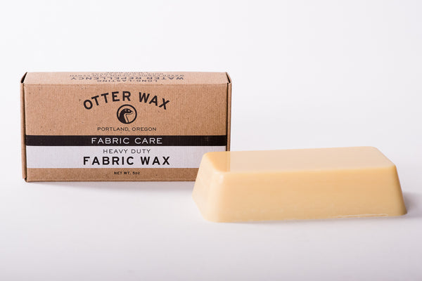 Otter Wax's Fabric Wax available at Manready Mercantile and manready.com