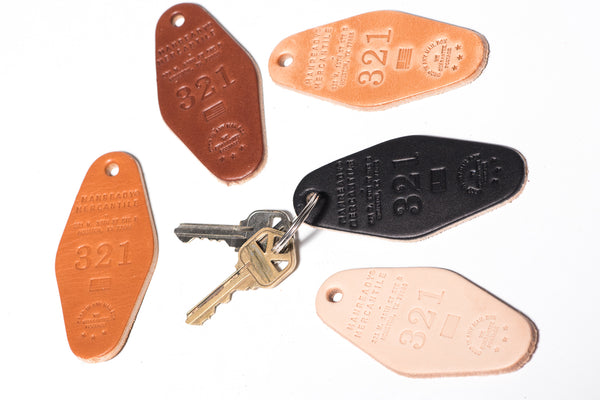 Leather Motel Key Tag | 321