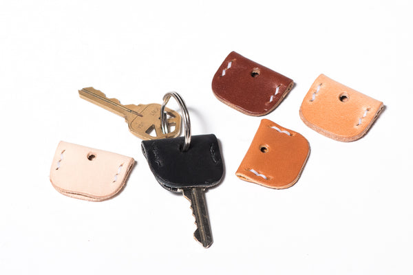 Manready Mercantile Leather Key Cover available at manready.com