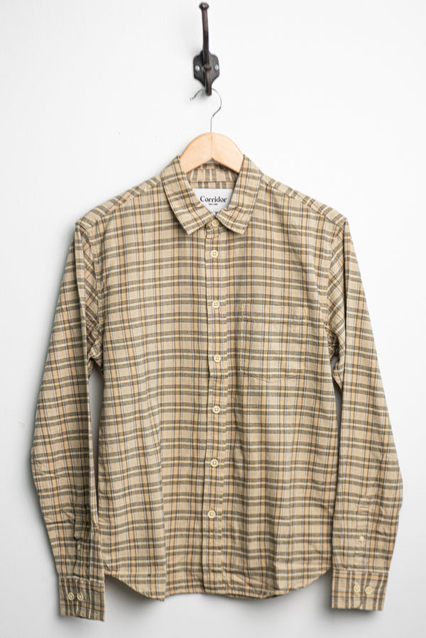 Natural Check L/S | Corridor - Manready Mercantile