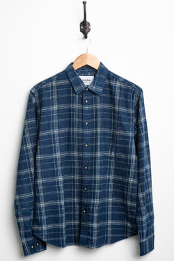 Indigo Red Plaid L/S | Corridor