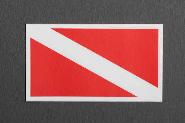 Sticker | Dive Flag | Manready Mercantile - Manready Mercantile