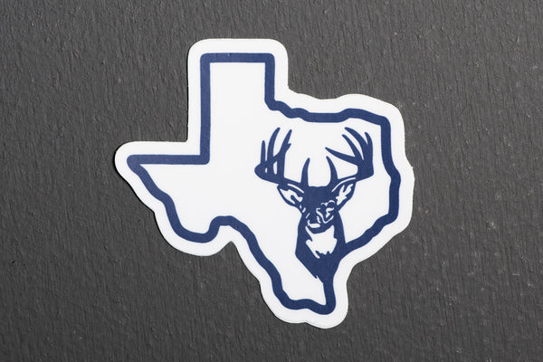Sticker | Texas Outline Buck | Manready Mercantile - Manready Mercantile