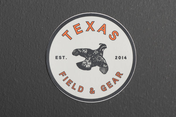 Sticker |Texas Field & Gear | Manready Mercantile - Manready Mercantile