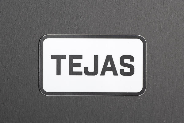 Sticker | Tejas Rectangle | Manready Mercantile - Manready Mercantile