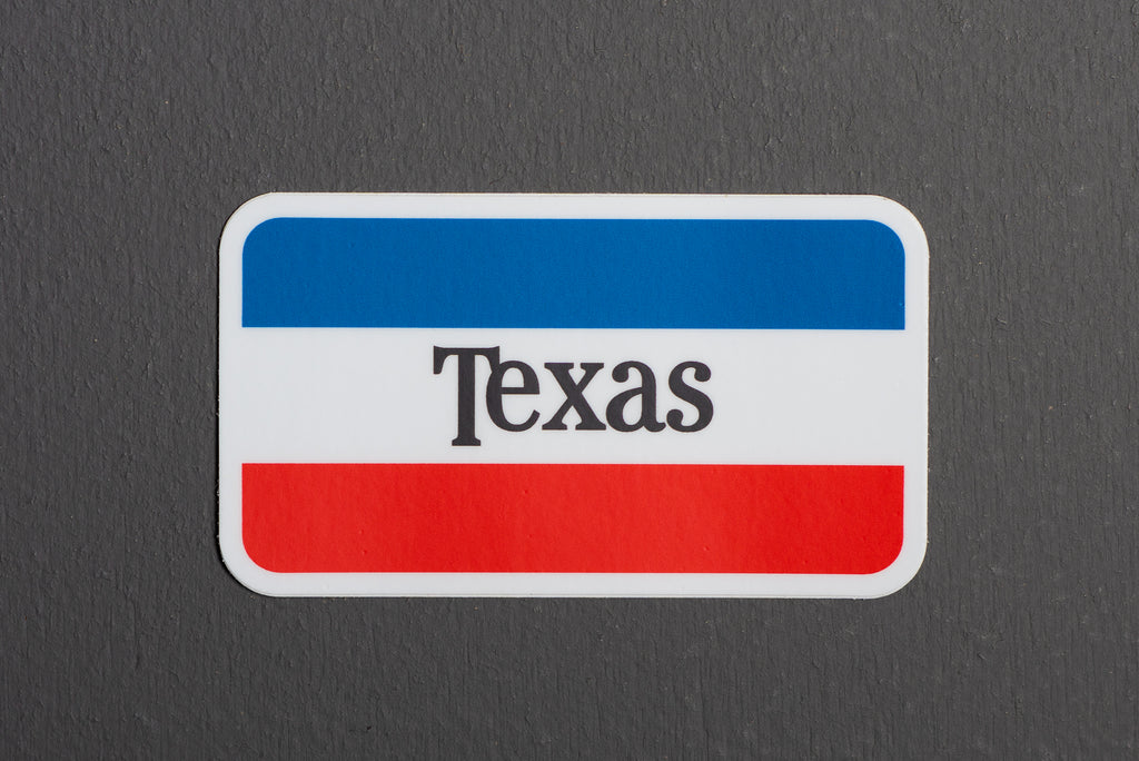 Sticker | Don't Mess With Texas | Red White + Blue | Manready Mercantile