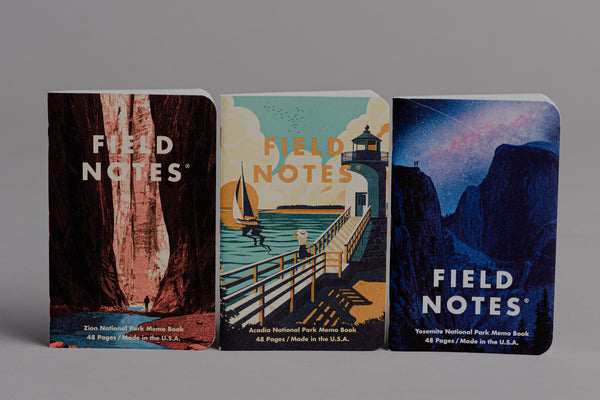National Parks | Graph Paper | Field Notes - Manready Mercantile
