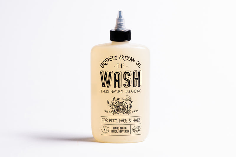 The Wash | Blood Orange + Lemon + Lavender | Brothers Artisan Oil - Manready Mercantile