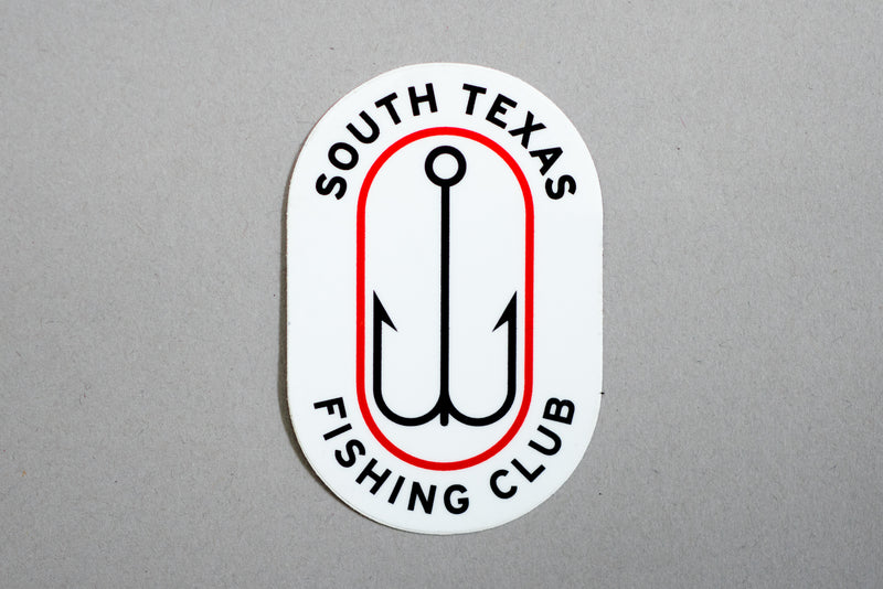 Sticker | South Texas Fishing Club 2 | Manready Mercantile - Manready Mercantile