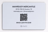 Digital Gift Card | Manready Mercantile - Manready Mercantile