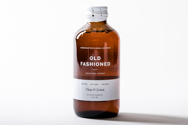 Cocktail Syrup | Old Fashioned | W + P Design