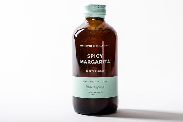 Cocktail Syrup | Spicy Margarita | W + P Design