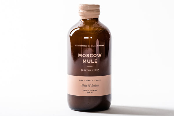 Cocktail Syrup | Moscow Mule | W&P Design