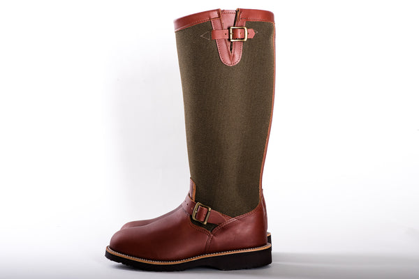 "Aldrich | Descaro 17"" Snake Boot 