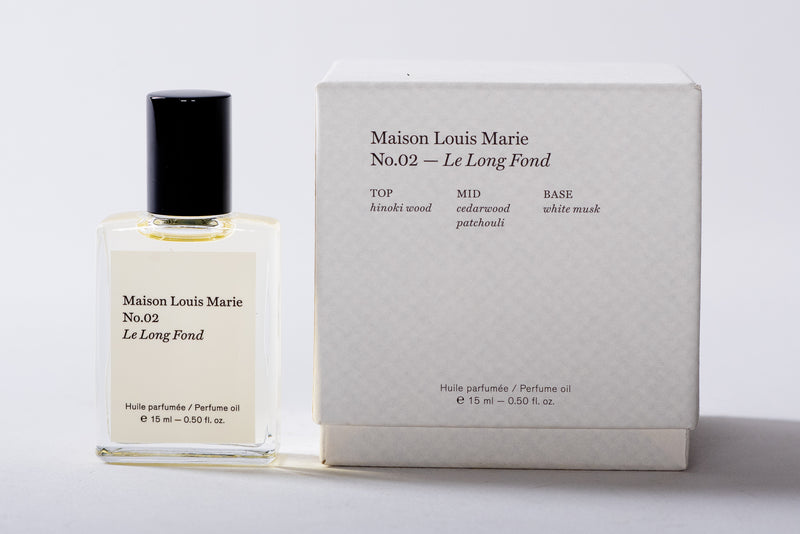 No.02 Perfume Oil | Le Long Fond | Maison Louis Marie - Manready Mercantile