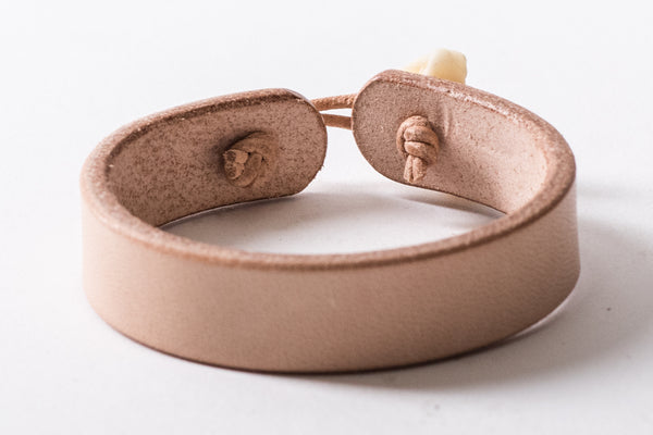 Bear Knuckle Cuff | Natural, Brown, or Black | Ewing Dry Goods - Manready Mercantile