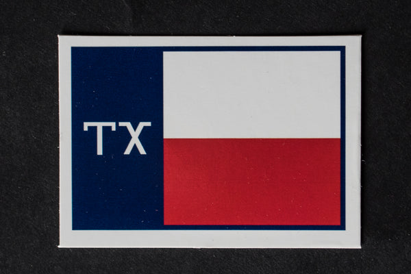 TX Flag Sticker | Manready Mercantile
