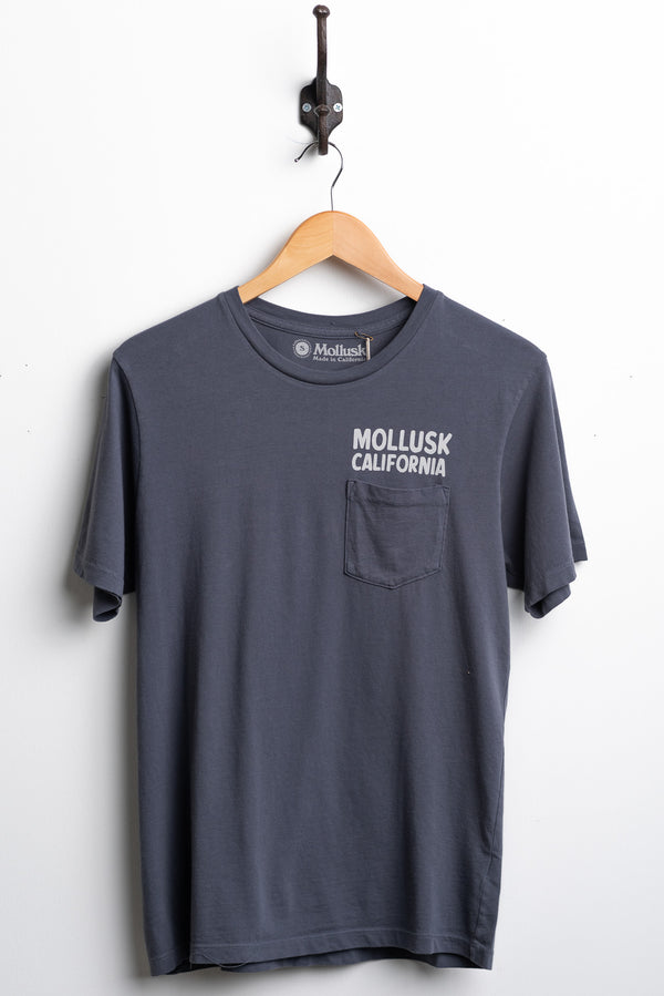 Surf Supply Tee | Faded Navy | Mollusk