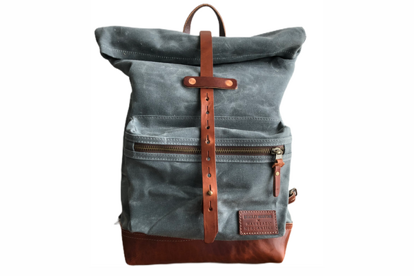 Biographer Backpack | Charcoal | Bradley Mountain x Manready Mercantile