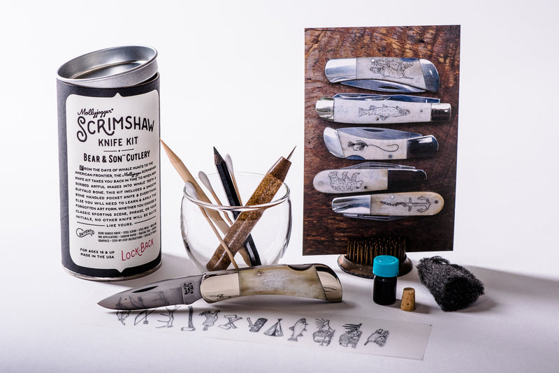 Scrimshaw Knife Kit | Mollyjogger