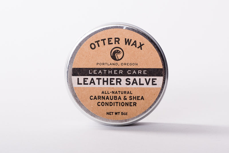 Otter Wax Leather Salve available at Manready Mercantile and manready.com