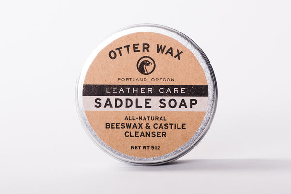 otter wax saddle soap boots leather manready mercantile