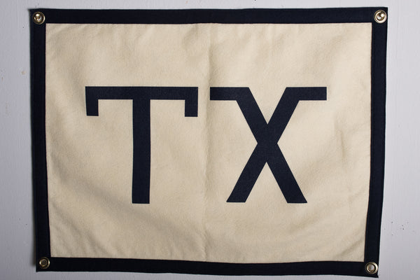 Banner | Texas | Oxford Pennants