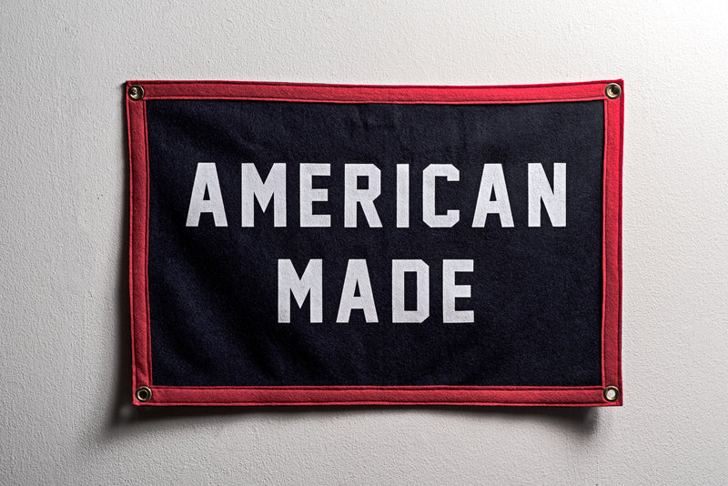Banner | American Made | Oxford Pennant - Manready Mercantile