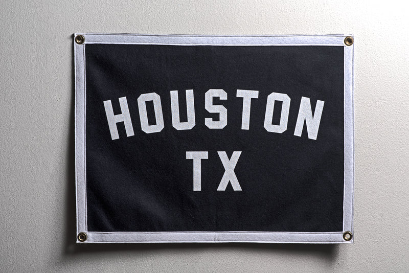 Banner | Houston TX | Oxford Pennant x Manready Mercantile - Manready Mercantile