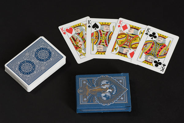 Blue Tycoon Playing Cards | Theory 11