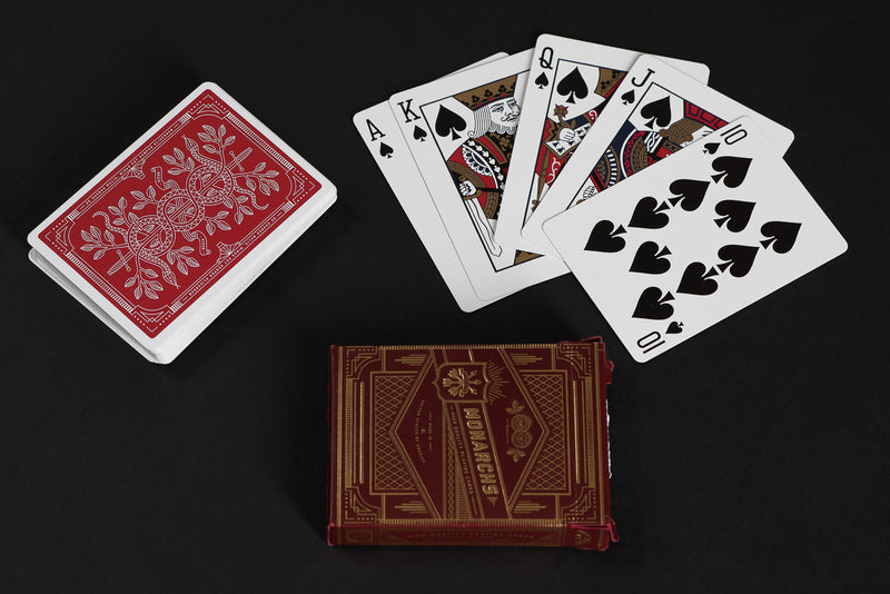 Monarch Playing Cards | Red | Theory 11 - Manready Mercantile
