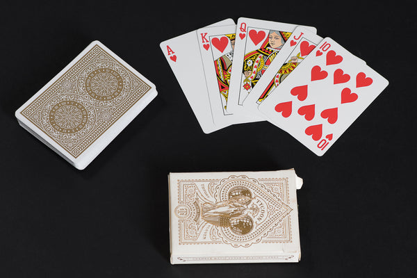 Tycoon Playing Cards in Ivory by Theory 11 available at Manready Mercantile in Houston Texas and manready.com