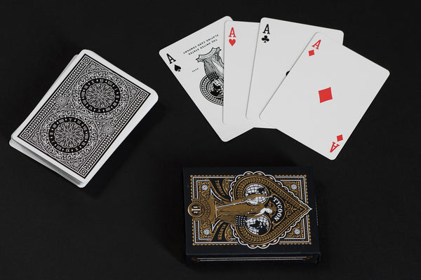 Tycoon Playing Cards | Black | Theory 11