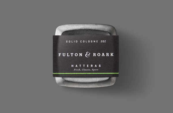Fulton & Roark Hatteras Solid Cologne available at Manready Mercantile