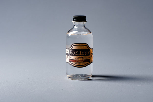 Railcar Aftershave Clear Mens Apothecary Manready Mercantile