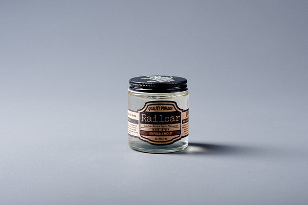 Pomade | Supreme Hold | Railcar Fine Goods - Manready Mercantile