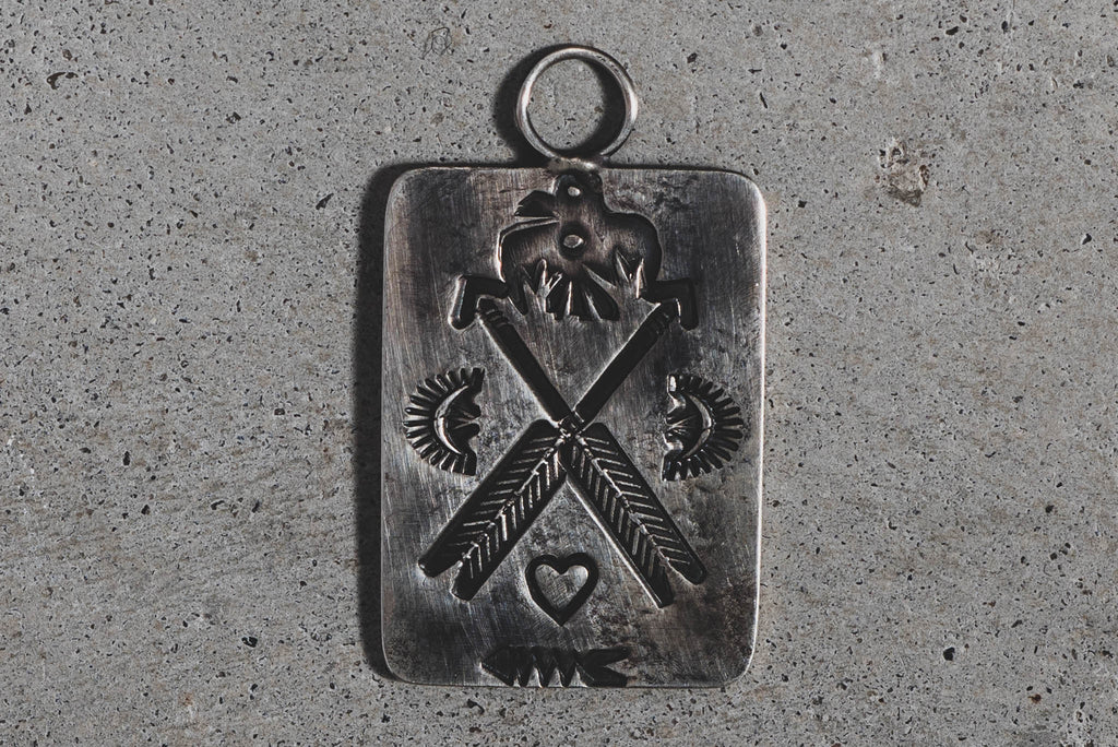 Dog Tag | Sterling Silver | Red Rabbit Trading Co.