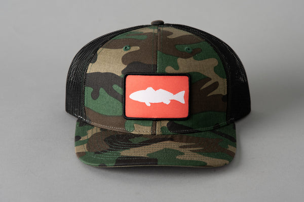 112 Richardson Hat | Coral Redfish | Manready Mercantile