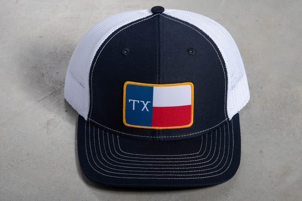 112 Richardson Hat | Texas Flag | Manready Mercantile