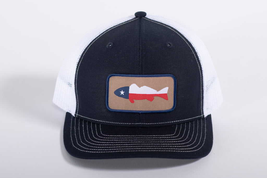 112 Richardson Patch | Navy + White | Texas Fish Patch | Manready Mercantile